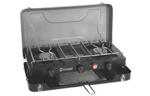 Outwell Chef Cooker Deluxe 3-Burner Stove & Toaster DE